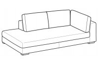 Sofas Forest Angular side element