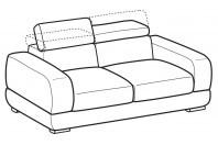 Sofas Graffiti 3-er sofa