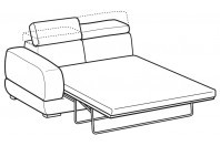 Sofas Graffiti 3-er maxi lateral element with electro-welded base