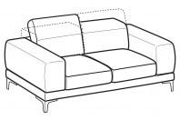 Sofas Harvey 2-er sofa