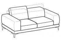Sofas Harvey 3-er sofa