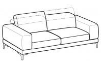 Sofas Harvey 3-er maxi sofa