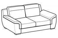 Sofas Hollis 2-er sofa