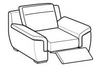 Sofas Hollis Relax armchair