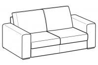 Sofas Icaro 2-er sofa