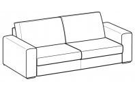Sofas Icaro 3-er sofa