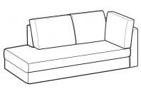 Sofas Icaro Angular side element
