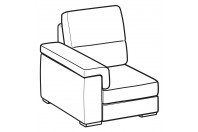 Sofas Jaro 1-er small lateral element