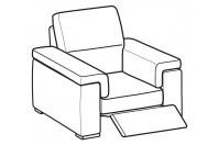 Sofas Jaro Relax armchair