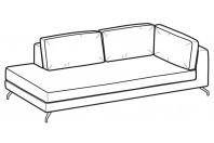 Sofas Kennedy Angular side element
