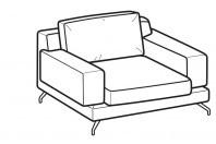Sofas Kennedy Armchair
