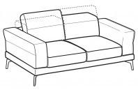 Sofas Lambert 2-er sofa