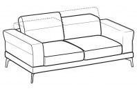 Sofas Lambert 3-er sofa