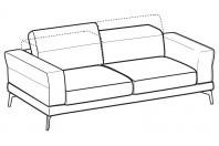 Sofas Lambert 3-er maxi sofa