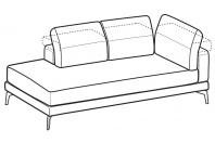 Sofas Lambert Angular side element