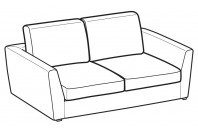 Sofas Lola 2-er sofa