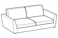 Sofas Lola 2-er maxi sofa