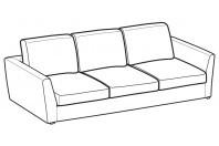 Sofas Lola 3-er sofa