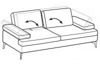 Sofas Luis 3-er sofa