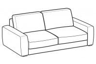 Sofas Magyster 3-er sofa