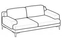 Sofas Nixon 3-er sofa