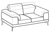 Sofas Norton 2-er sofa