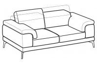 Sofas Norton 3-er sofa