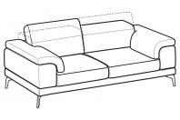 Sofas Norton 3-er maxi sofa