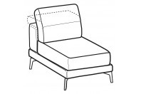 Sofas Norton 1-er small central element