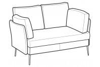 Sofas Ralph 2-er sofa