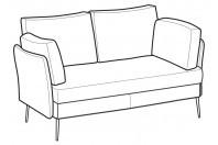Sofas Ralph 3-er sofa