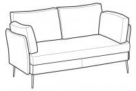 Sofas Ralph 3-er maxi sofa
