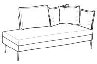 Sofas Ralph Angular side element