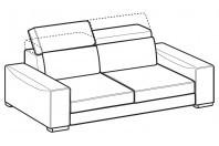 Sofas Robert 3-er sofa