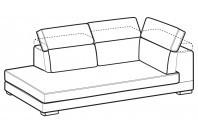 Sofas Robert Angular side element
