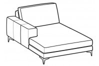 Sofas Russel Chaise Longue