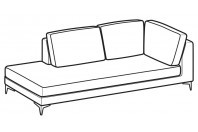 Sofas Russel Angular side element