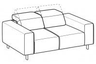 Sofas Sebastian 2-er sofa