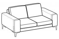 Sofas Spencer 2-er sofa