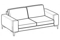 Sofas Spencer 2-er maxi sofa