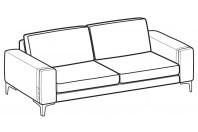 Sofas Spencer 3-er sofa