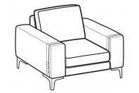 Sofas Spencer Armchair