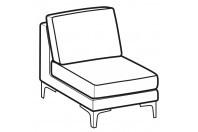 Sofas Spencer 1-er central element