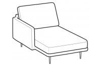 Sofas Tidy Chaise longue