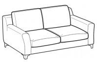 Sofas Vincent 2-er sofa