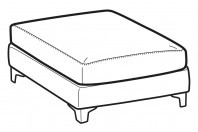 Sofas Vincent Footstool