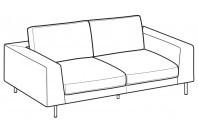 Sofas Voyage 3-er sofa