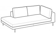 Sofas Voyage Angular side element