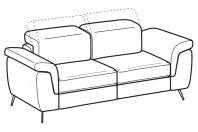 Sofas Zeno 2-er sofa