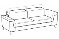 Sofas Zeno 4-er sofa
